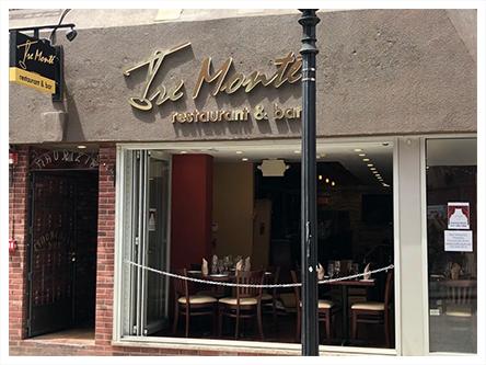 Tremonte Restaurant Bar North End 76 M St Boston Ma 02113